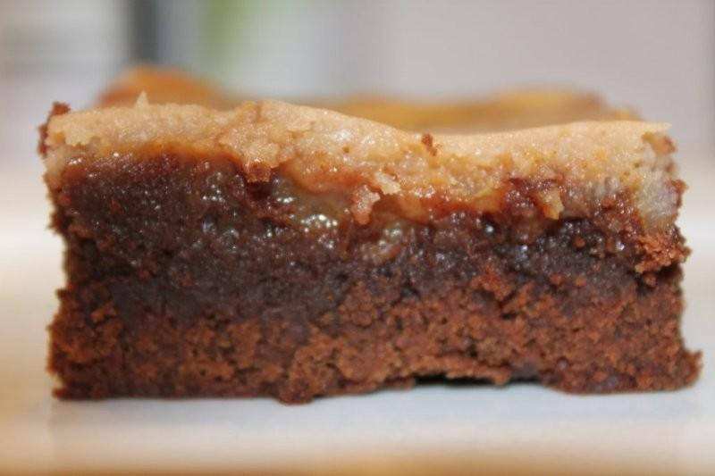 Caramel Brownies – Stay-at-Home Baker